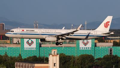 A picture of B1877 - Airbus A321232 - Air China - © Sebastian Shen