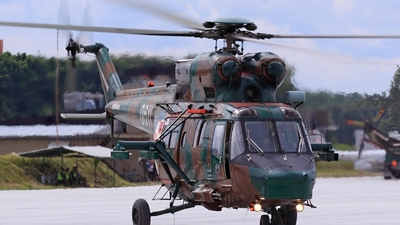 0611 - PZL-Swidnik W3 Sokol - Poland - Army