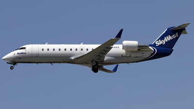 A picture of N866AS - Mitsubishi CRJ200ER - SkyWest Airlines - © TOMBARELLI FEDERICO