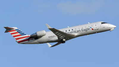 A picture of N260JS - Mitsubishi CRJ200ER - PSA Airlines - © DJ Reed - OPShots Photo Team