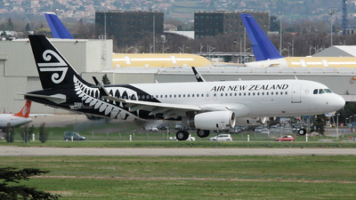 F-WWBQ - Airbus A320-232 - Air New Zealand
