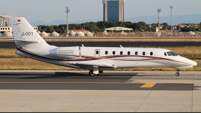 J-001 - Cessna 680 Citation Sovereign - Private