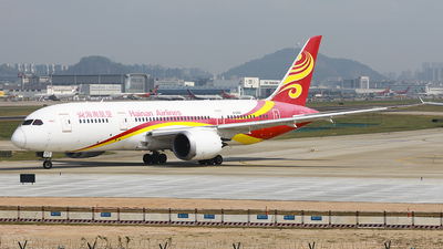 A picture of B2723 - Boeing 7878 Dreamliner - Hainan Airlines - © Luo Chun Hui