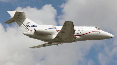 XA-BWB - Raytheon Hawker 800XP - Air Taxi