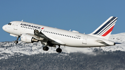 A picture of FGRHY - Airbus A319111 - Air France - © Claude Davet