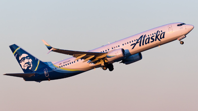 A picture of N293AK - Boeing 737990(ER) - Alaska Airlines - © Positive Rate Photography