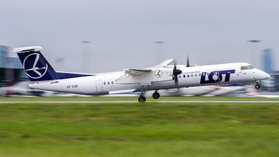 A picture of SPEQD - De Havilland Canada Dash 8400 - LOT - © Konstanty Dobrzynski