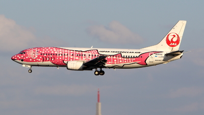 JA8992 - Boeing 737-446 - Japan TransOcean Air (JTA)