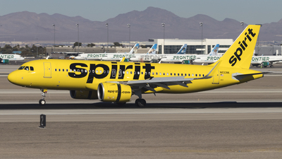 A picture of N933NK - Airbus A320271N - Spirit Airlines - © David Lee
