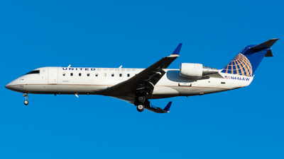 N446AW - Bombardier CRJ-200ER - United Express (Air Wisconsin)