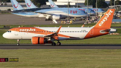 A picture of GUZHI - Airbus A320251N - easyJet - © Dan Smith