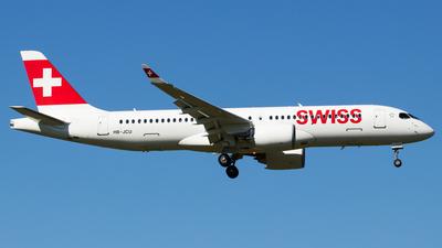 HB-JCU - Airbus A220-371 - Swiss