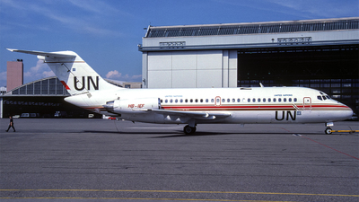 HB-IEF - McDonnell Douglas DC-9-14 - United Nations (Aeroleasing)