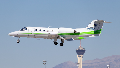 N43MF - Gates Learjet 35A - Private
