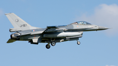 J-197 - General Dynamics F-16AM Fighting Falcon - Netherlands - Royal Air Force