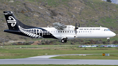 ZK-MVG - ATR 72-212A(600) - Air New Zealand Link (Mount Cook Airline)