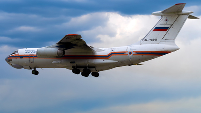 A picture of RA76841 - Ilyushin Il76TD - MCHS Rossii - © Alexander Lebedev