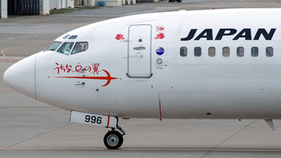 JA8996 - Boeing 737-446 - Japan TransOcean Air (JTA)