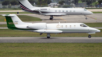 N155AM - Gates Learjet 35A - Private