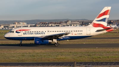 G-EUPX - Airbus A319-131 - British Airways