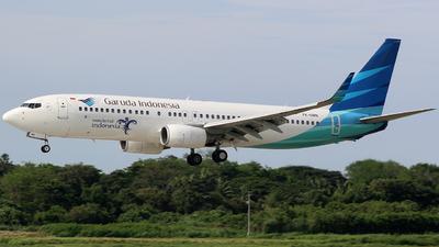 A picture of PKGMN - Boeing 7378U3 - Garuda Indonesia - © Luqman Alif