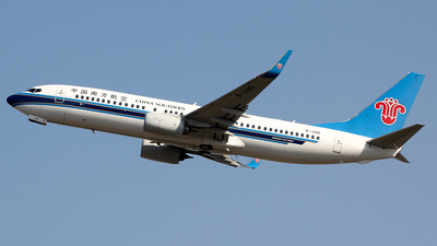 B-1285 - Boeing 737-81B - China Southern Airlines