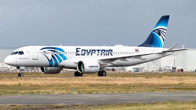 C-FOWF - Airbus A220-371 - EgyptAir