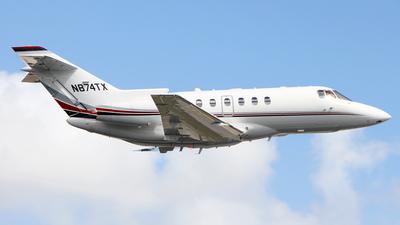 N874TX - Raytheon Hawker 800XP - Air Taxi