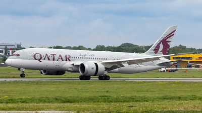 A picture of A7BCN - Boeing 7878 Dreamliner - Qatar Airways - © Pawel Guraj