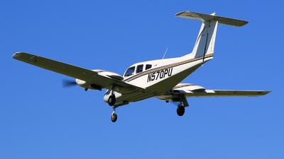 A picture of N570PU - Piper PA44180 Seminole - [4496141] - © Hongming Zheng
