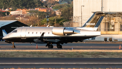 N604AK - Bombardier CL-600-2B16 Challenger 604 - Private
