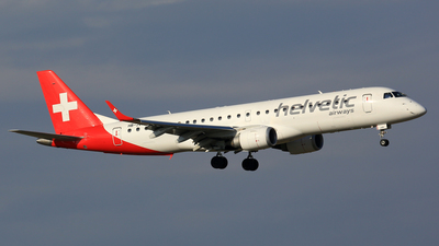 HB-JVR - Embraer 190-100LR - Helvetic Airways