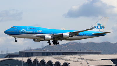 A picture of PHBFT - Boeing 747406(M) - KLM - © Jubilant Chan - AHKGAP