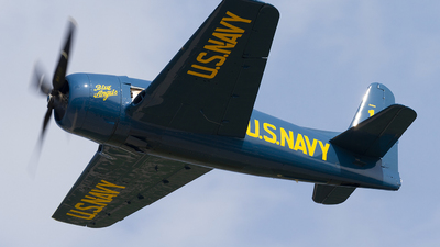 N68RW - Grumman F8F-2P Bearcat - Private