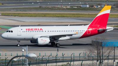 A picture of ECMFP - Airbus A319111 - Iberia - © Mateo León