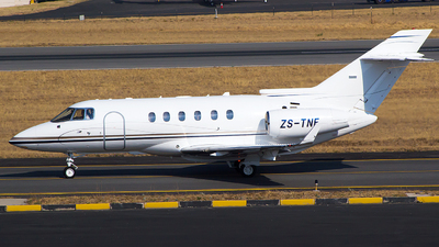 ZS-TNF - Hawker Beechcraft 800XP - Private