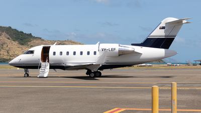 A picture of VHLEF - Bombardier Challenger 650 - [6100] - © Tim Burnett