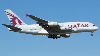 A7-APD - Airbus A380-861 - Qatar Airways