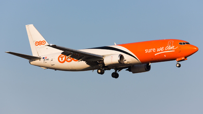 OE-IAQ - Boeing 737-4M0(SF) - TNT (ASL Airlines)
