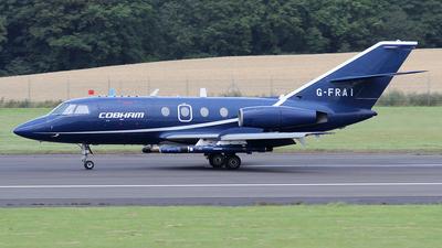 A picture of GFRAI - Dassault Falcon 20 - Cobham Aviation Services - © Ian Howat