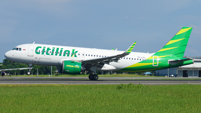 A picture of PKGTD - Airbus A320251N - Citilink - © Wilbert Tana