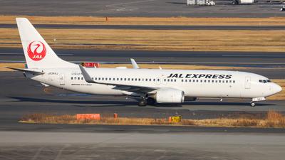 JA344J - Boeing 737-846 - JAL Express