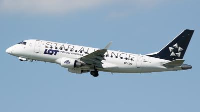 SP-LDC - Embraer 170-100STD - LOT Polish Airlines