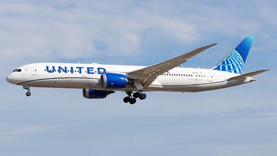 N24979 - Boeing 787-9 Dreamliner - United Airlines