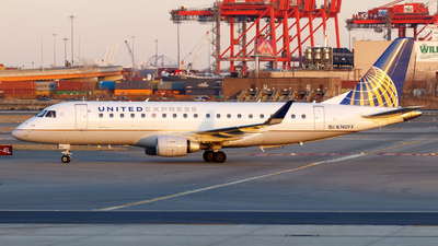 A picture of N740YX - Embraer E175LR - United Airlines - © Oliver Richter