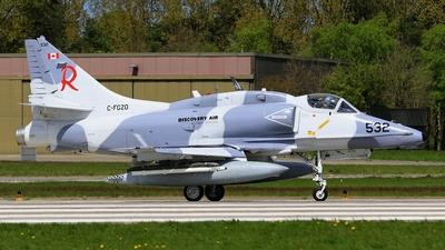 C-FGZO - McDonnell Douglas A-4N Skyhawk - Discovery Air