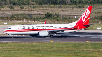 B-206U - Boeing 737-89P - China United Airlines