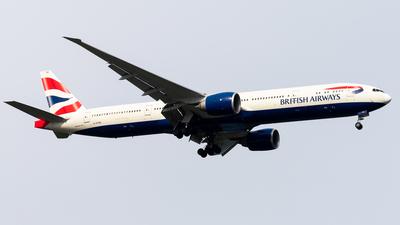 A picture of GSTBE - Boeing 77736N(ER) - British Airways - © Nick Sheeder