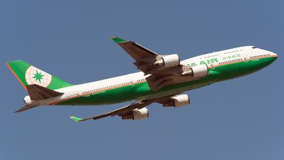 B-16408 - Boeing 747-45E(M) - Eva Air