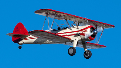 NC56760 - Boeing A75N1 Stearman - Private